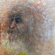 Imaginary self-portrait as an old man