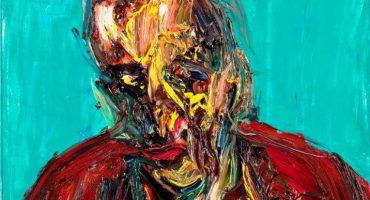 Alex KREMER, Portrait of Yair (I), 2015 - 60x60cm