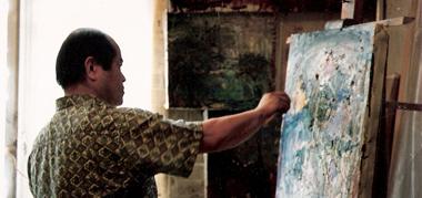 Osamu Yamazaki peintre